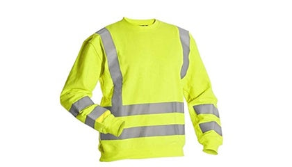 Hi Vis Sweatshirt 2 Band And Brace Class 3 (Rugby/Nuneaton) - StepAhead Workwear