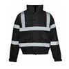 Step Ahead Hi Visibility Bomber Jacket Single Tone