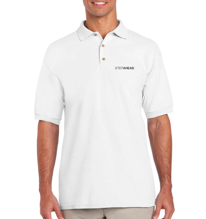 StepAhead Men's Ultra Cotton Pique Sports Shirt