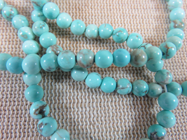 Perles Turquoise ronde