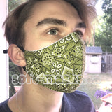 Bandana Green Mask