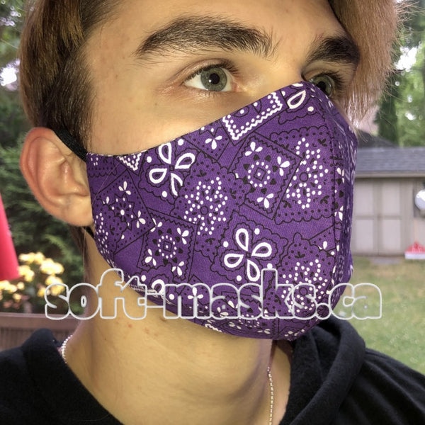 Bandana Purple Mask