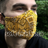 Bandana Yellow Mask
