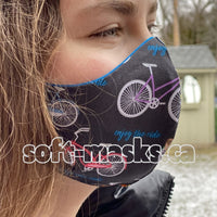 Bicycles - Enjoy The Ride Mask