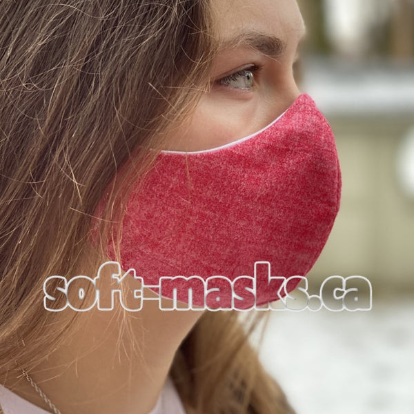 Chambray - Red Mask