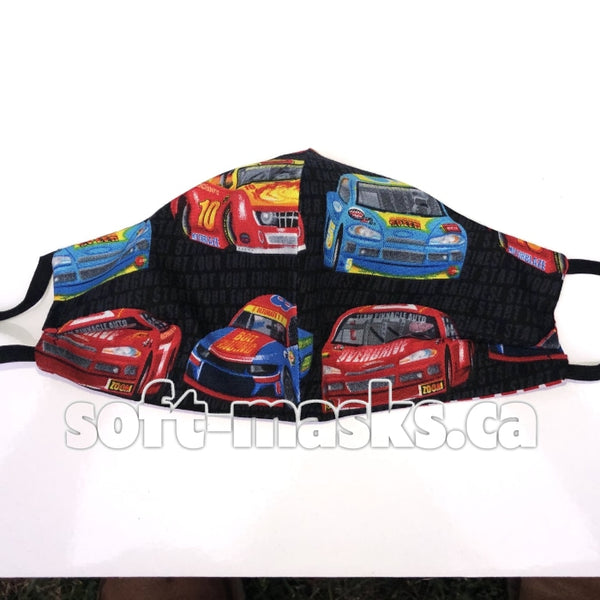 Kids Mask - Hot Rods