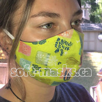 garden planters soft cotton fabric face mask