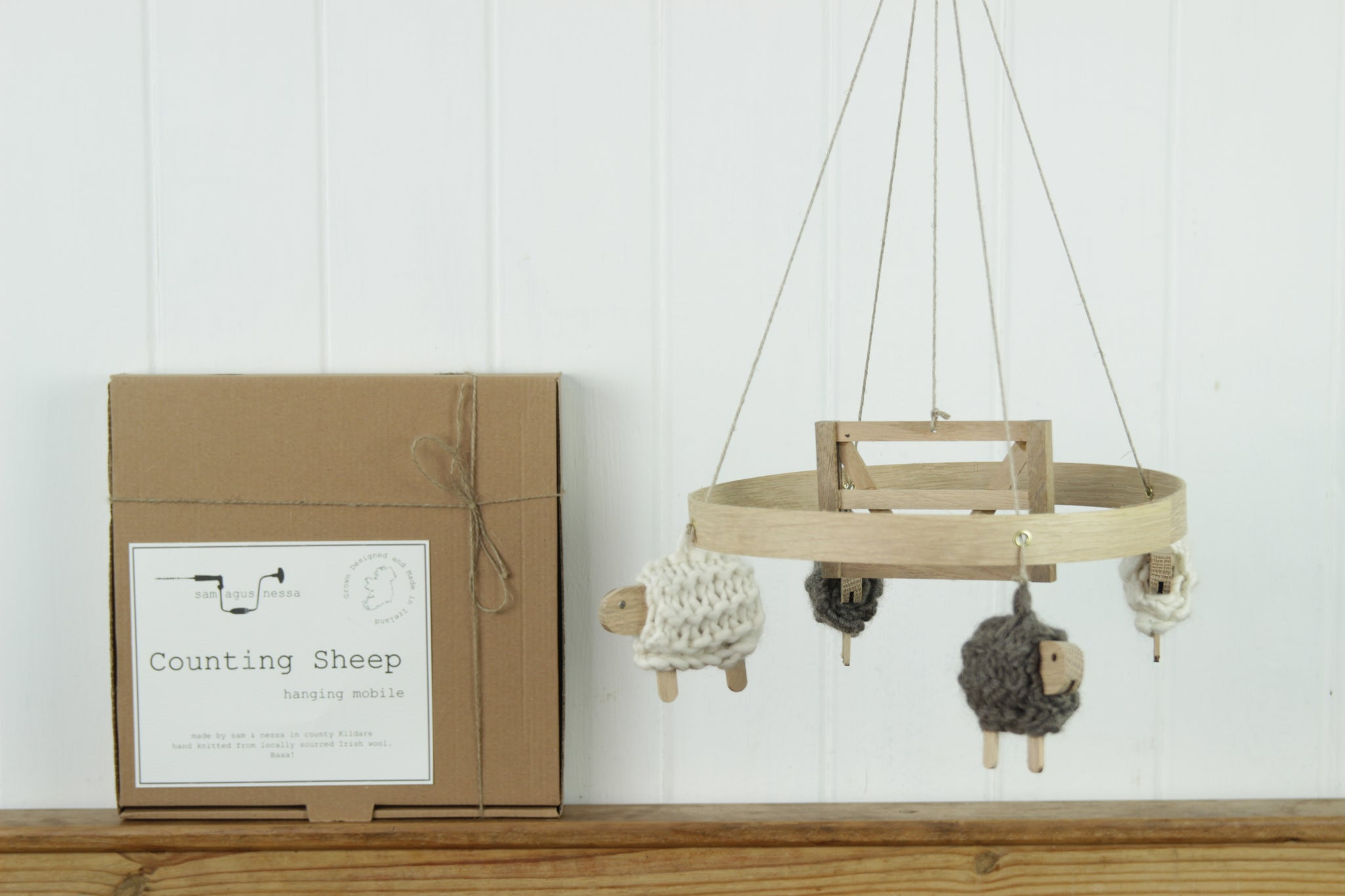 Hanging Mobile, Counting Sheep, Sam Agus Nessa