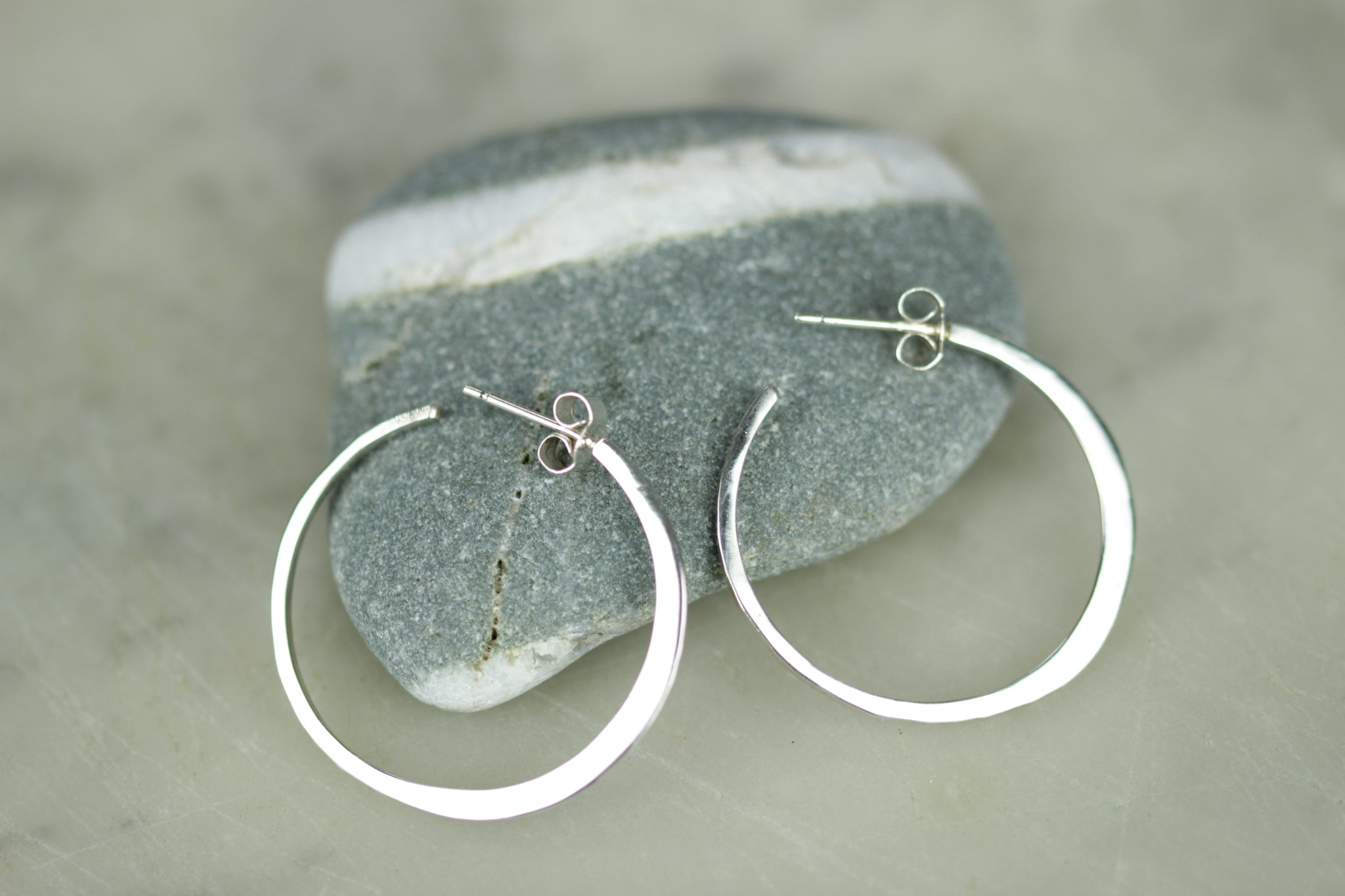 Ciorcail Large Hoop Earrings, Lynsey de Burca