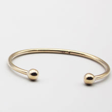 Load image into Gallery viewer, 9k GOLD baby torque bangle