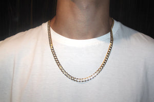 9k GOLD cuban chain