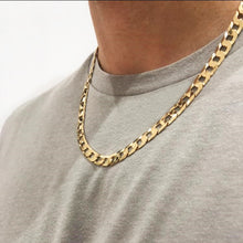 Load image into Gallery viewer, 9k GOLD flat curb chain
