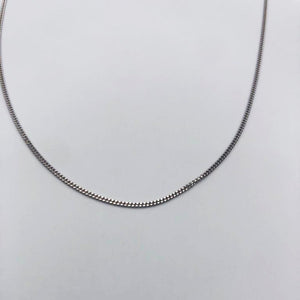 18k GOLD curb chain