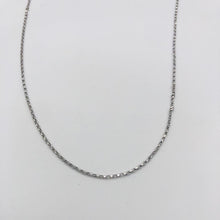 Load image into Gallery viewer, 18k GOLD diamond cut belcher chain