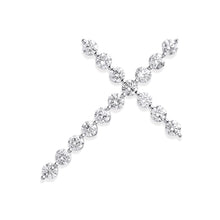 Load image into Gallery viewer, DIAMOND cross pendant