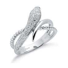 Load image into Gallery viewer, DIAMOND snake ring
