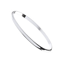 Load image into Gallery viewer, SILVER love bangle