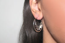 Load image into Gallery viewer, SILVER twinkly earrings