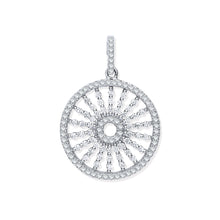 Load image into Gallery viewer, SILVER universe cz pendant