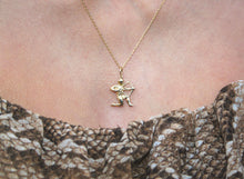 Load image into Gallery viewer, 9k GOLD sagittarius zodiac pendant