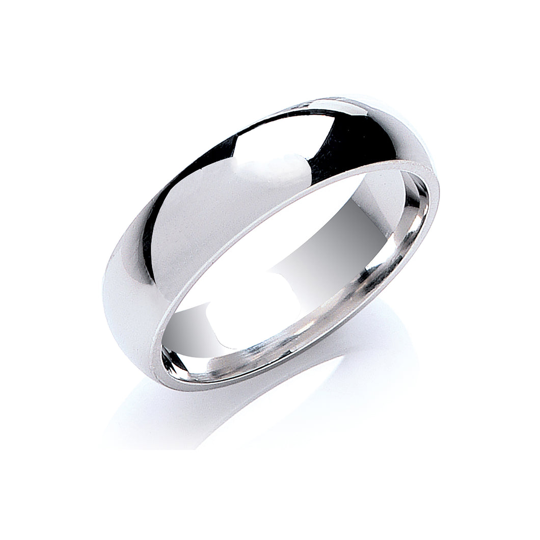 SILVER court shape ring
