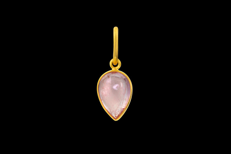 Loren Nicole - Morganite Pear - Charms