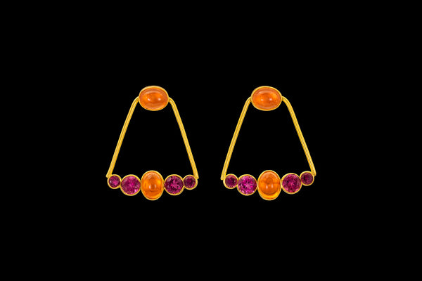 Loren Nicole - Sunrise 21st Dynasty Mini Ear Ornament - Earring