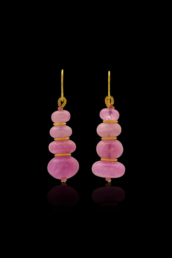 Loren Nicole - Bubble Gum Drop Earrings - Earring