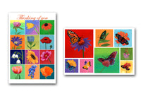 Blank note cards (10 pk, 5 ea design)