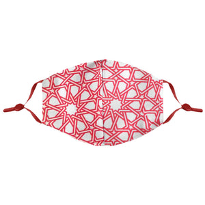 Open image in slideshow, Red Arabesque Mask