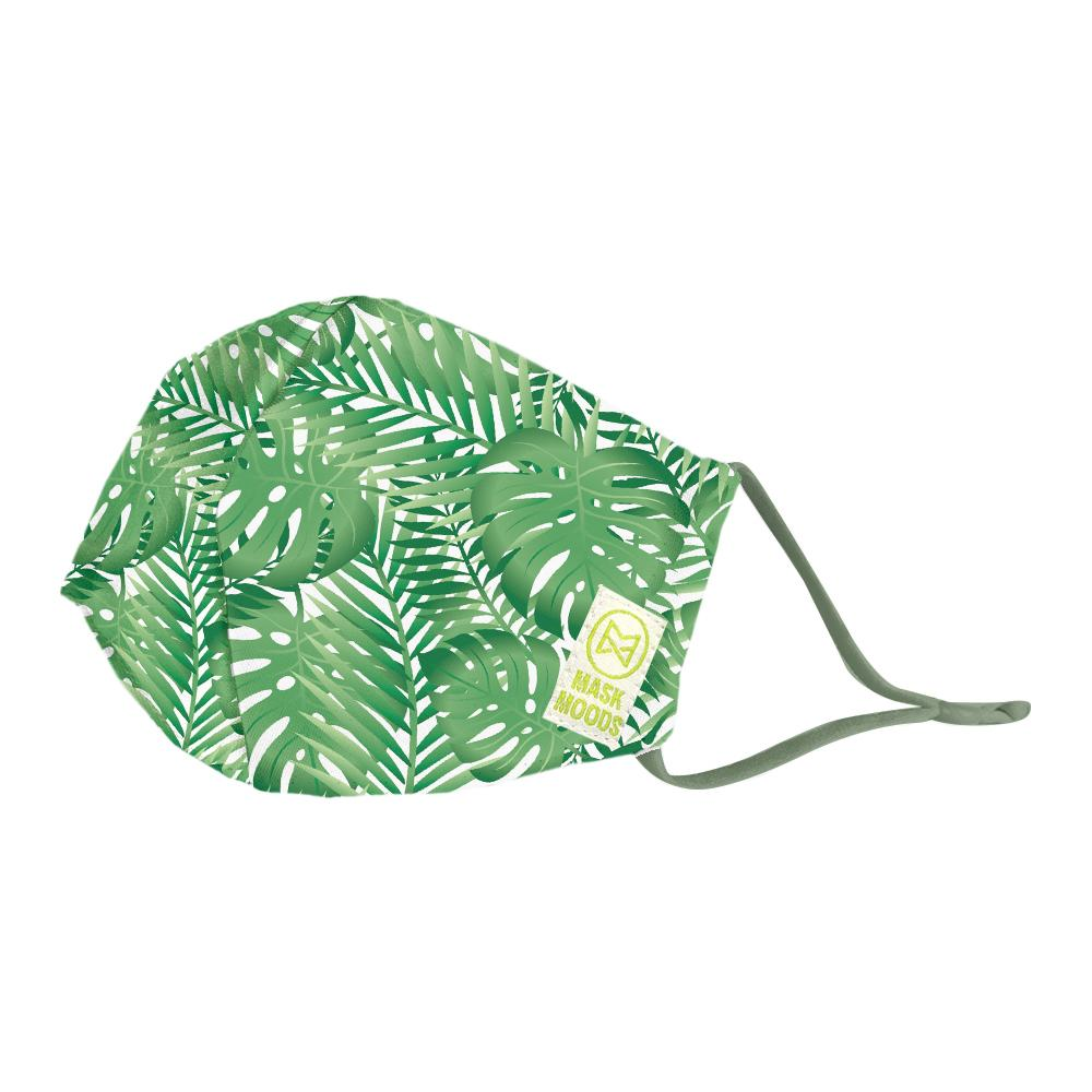 Tropical Leaves Mask