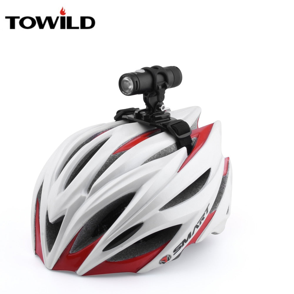TOWILD Headlight Helmet Mount Strips Bicycle MTB Bike Lights Holder Cycling Universal Parts Accessories