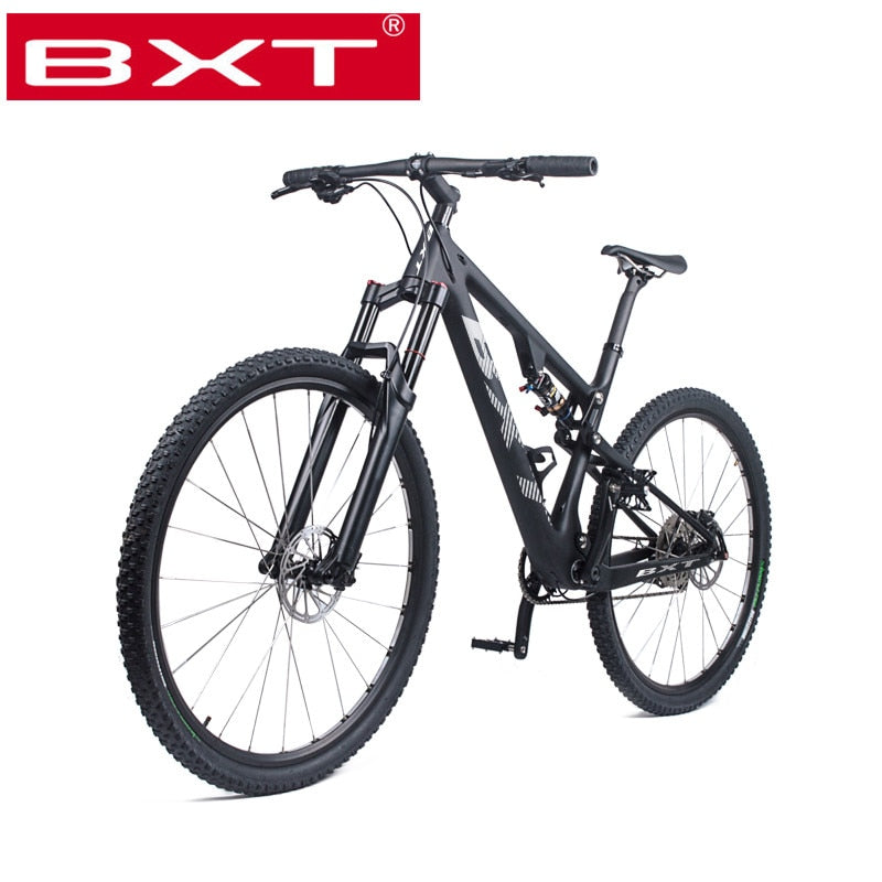 New Mountain Bike 29er Carbon Fiber Frame MTB Bicycle Full Suspension Complete Bike 1*11 Speed 29er*2.1 mtb tire Free Delivery