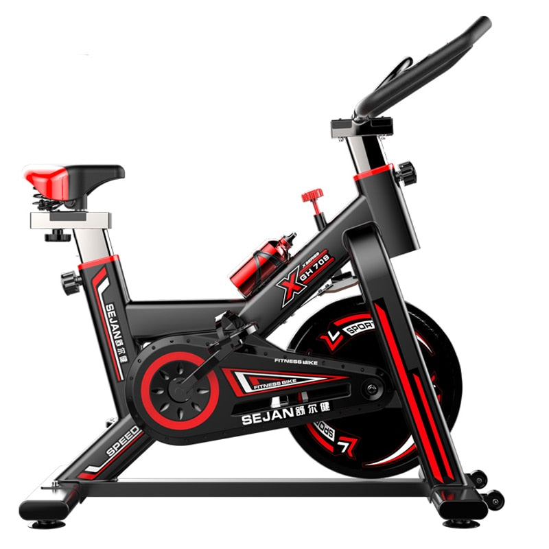 Model 709 spinning bike 250kg load Indoor Cycling Bicycle High Quality Home Exercise bike hot sell weight loss training bike