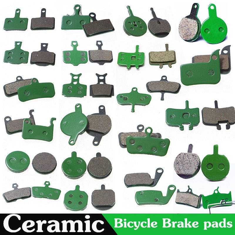 4 Pair (8pcs) MTB Bicycle Hydraulic Disc Ceramics Brake Pads For SHIMANO SRAM AVID HAYES Magura Formula Cycling Bike Part