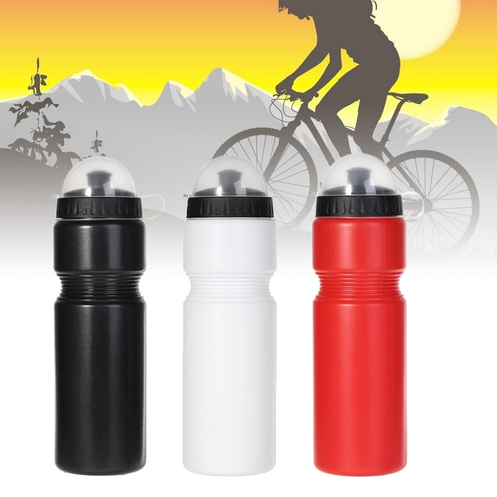 720ml Water Bottle PE Bicycle Cycling Camping Portable Sports Outdoor MTB Bike