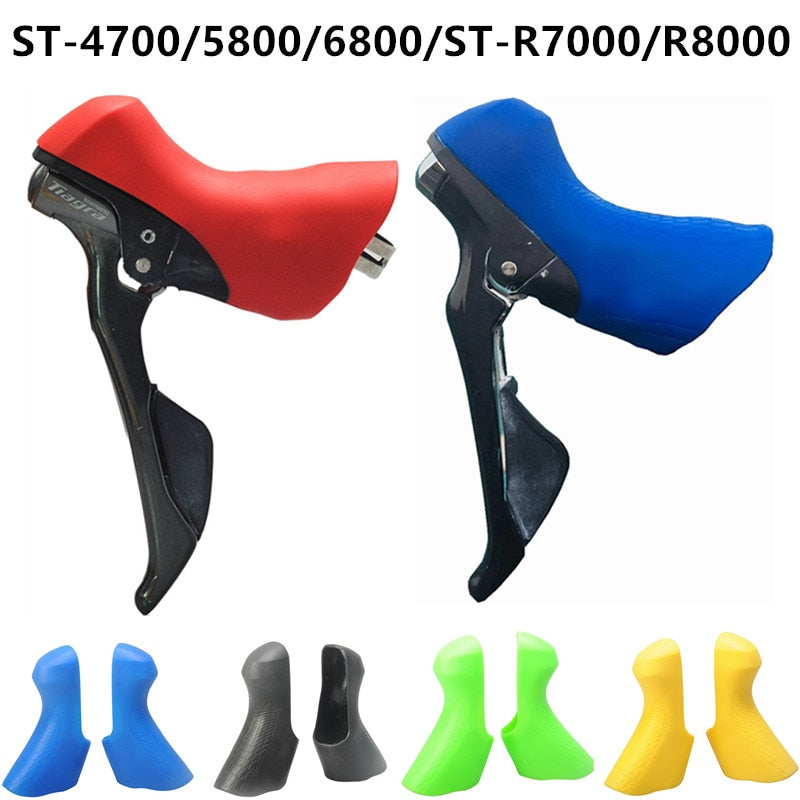 Road Bicycle Derailleur Lever Cover Hoods Bike Shift Case Cycling Accessories for Shimano 105 ST-4700 5800 6800 R7000 R8000