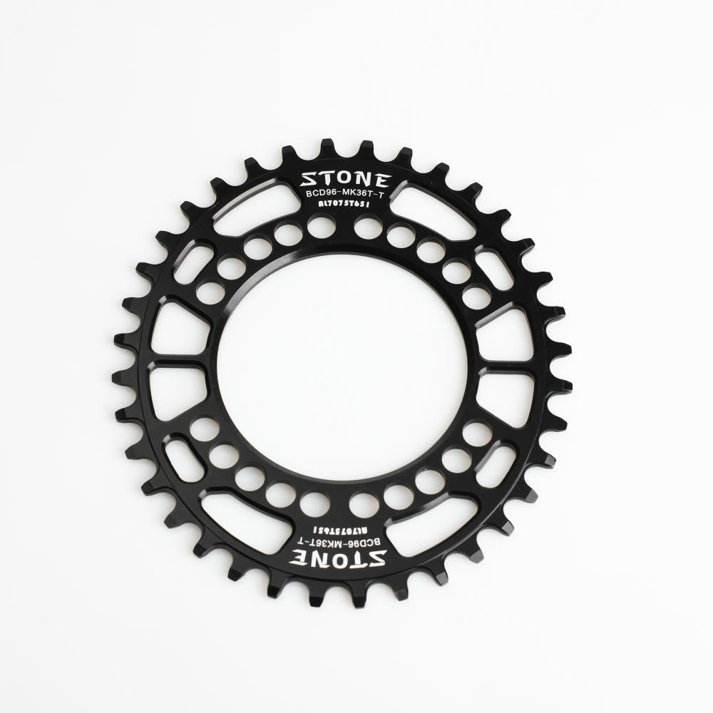 Bicycle oval chainring narrow wide BCD96 for M8000 M9000 38T 40T Chainwheel 9-11 single speed