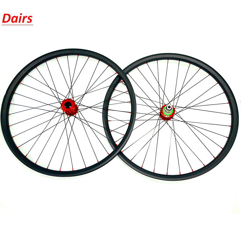 carbon mtb disc wheels 29er tubeless mtb wheelset XC 27.4x23mm HOPE 4 boost 110x15 148x12 CN424 mtb disc brake carbon wheels