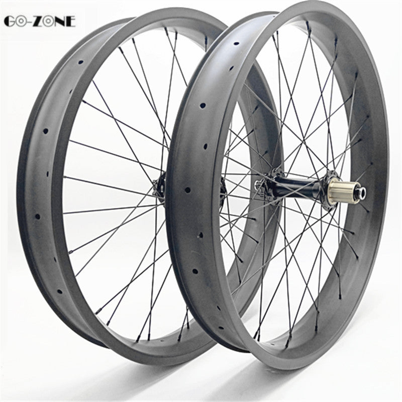 26 inch fatbike carbon wheelset 100x25mm tubeless disc wheel FASTace DH 805 150x15 197x12 fat bike carbon wheels pillar RACE