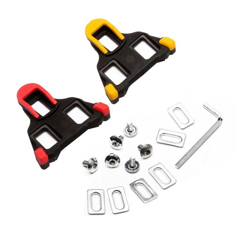 New Bike Shoe Cleats Splint Croup Road Self-Locking Plate Splint For Road Bicycle Peal Shoes 2019 New Arrival