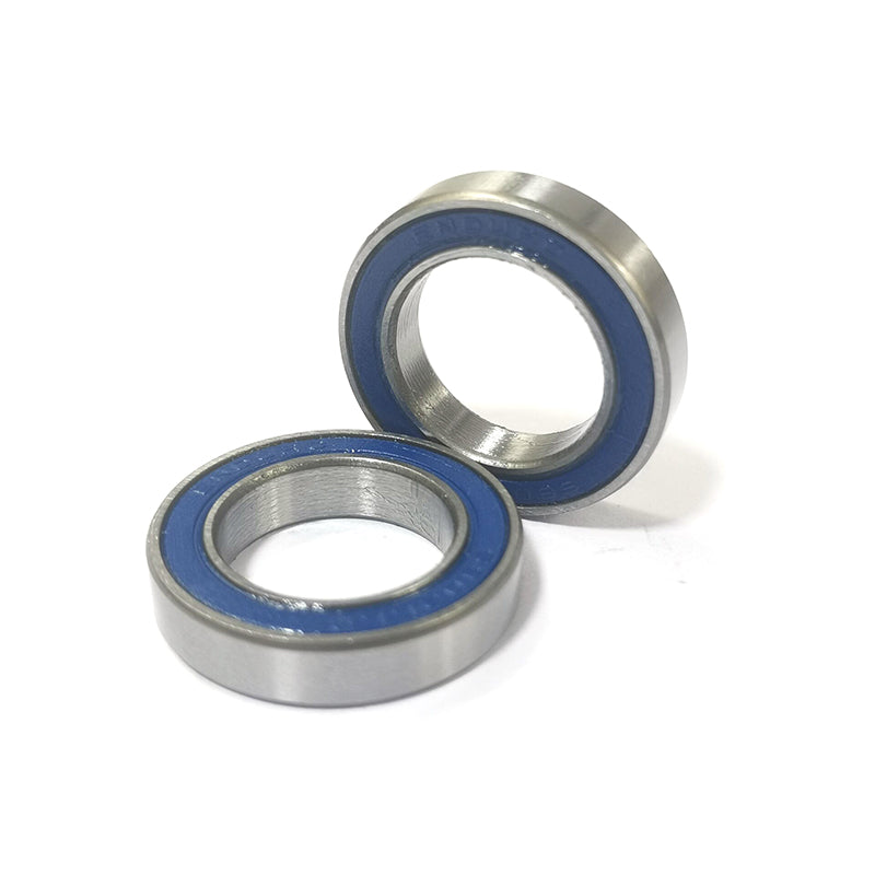 2pcs/lot 15X24X5mm TOP ENDURO 6802 LLB replacement sealed bearings for Powerway R36 rear hub PFH-R36 2 double rubber seals