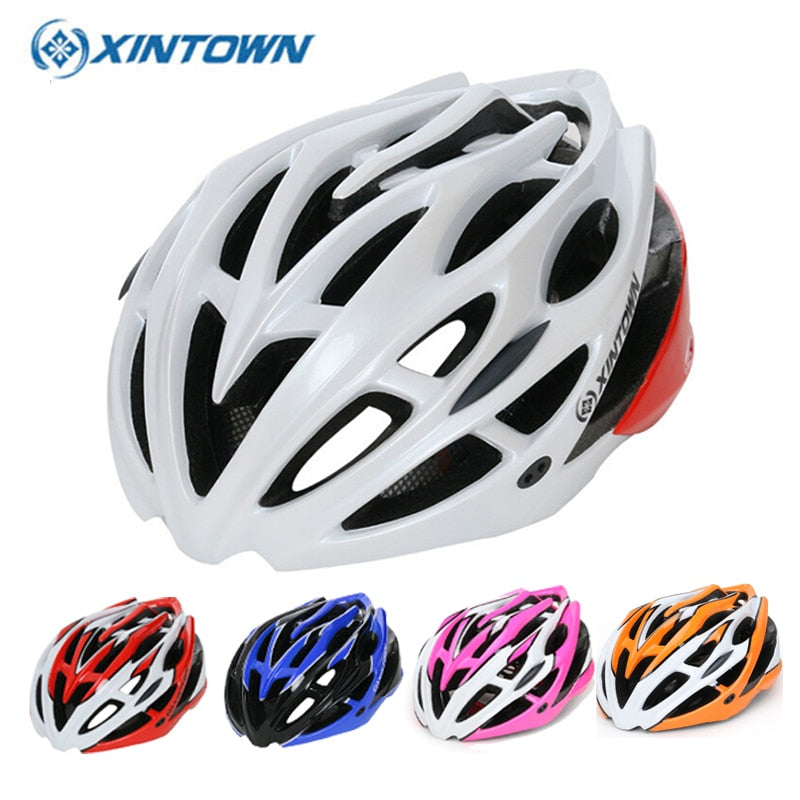 XINTOWN Professional Road Bike Cycling Helmet Men Bicycle Integrally-molded Ultralight Sport Helmet Casco Ciclismo 13 Color