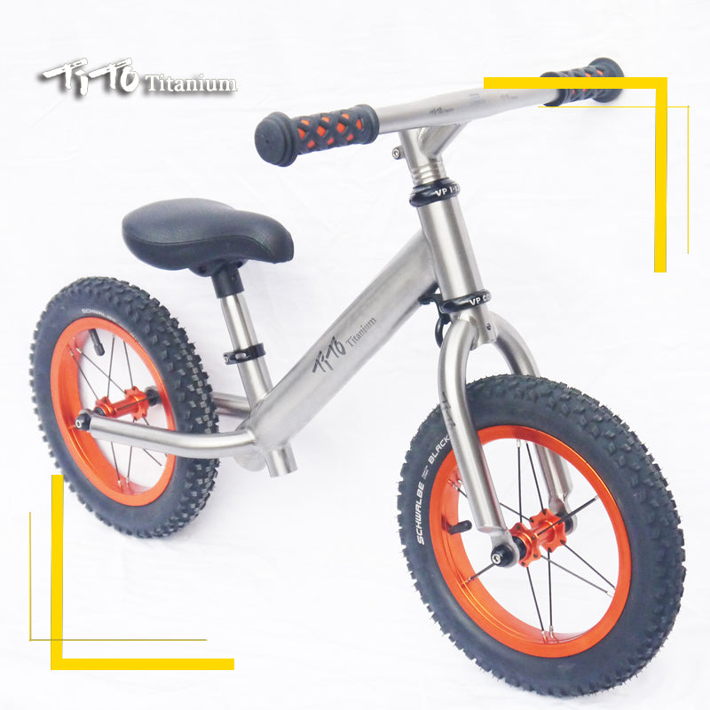TiTo Titanium Balance Bike Learn To Walk Get balance sense No Foot Pedal Riding Toys for Kids Baby