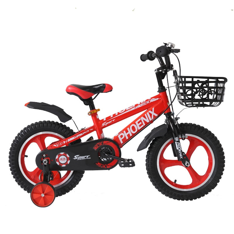 A14 Children Bike Double Disc Brake Shockingproof Frame Magnesium Alloy Kids bicycle kids