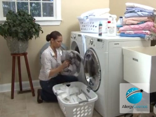 How to Remove Dust Mite Allergens During Laundry