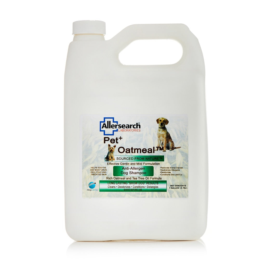 Allersearch Pet+ Oatmeal Dog Shampoo