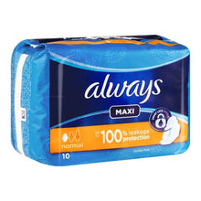 Always Maxi Pads 10's