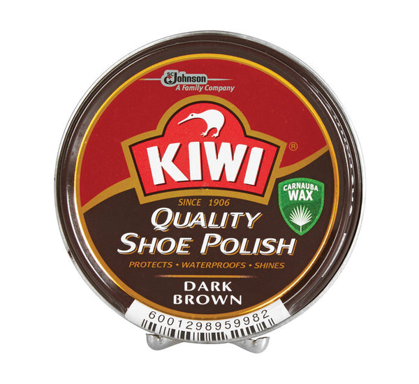 KIWI Shoe Polish Dark Brown 100ml