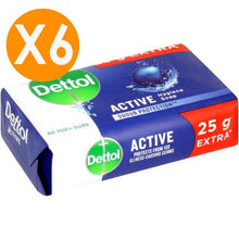 Dettol Soap Bar Active 175gr X6